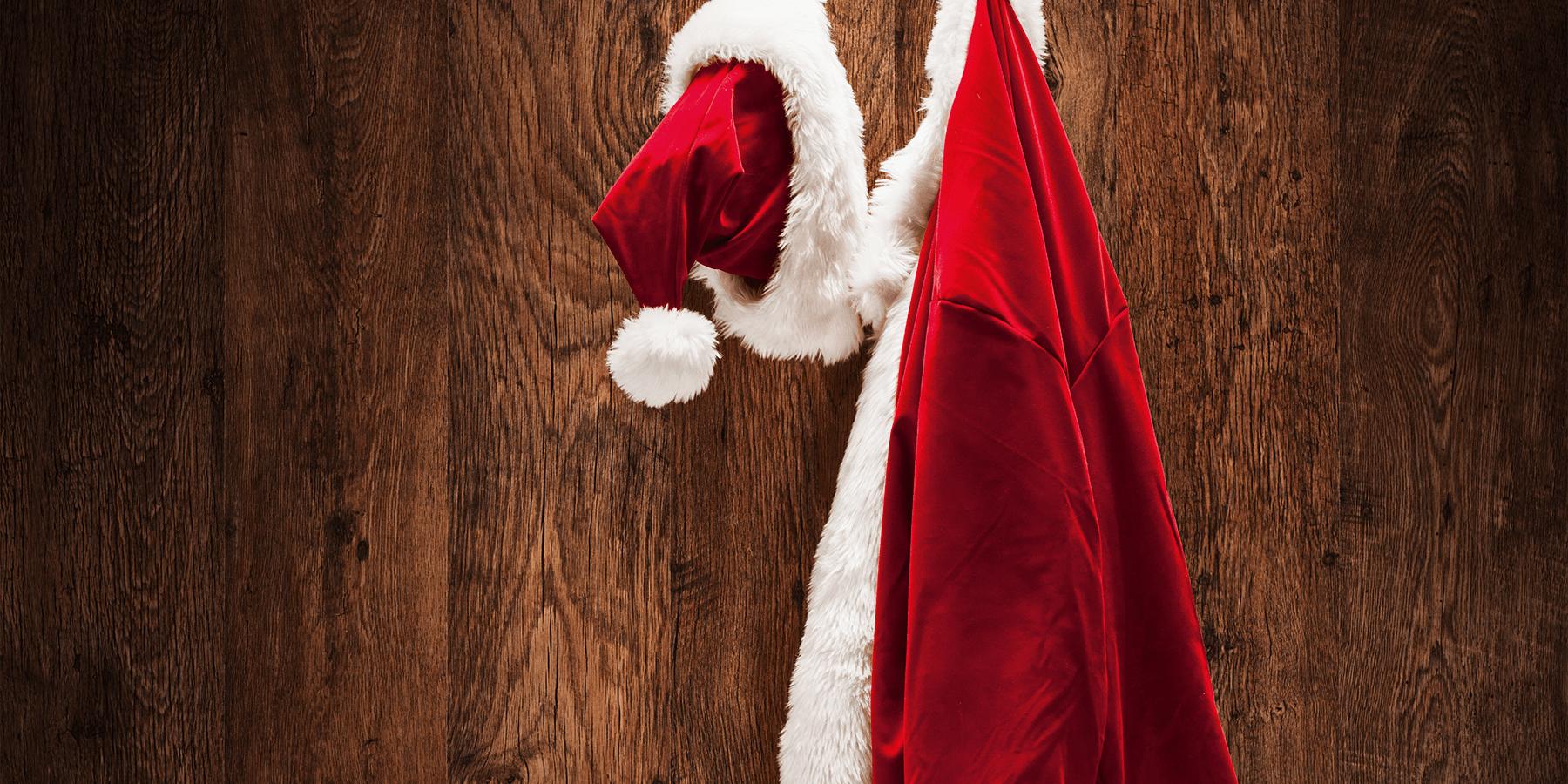 Say hi to Santa!