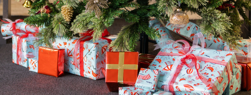 Get your gifts wrapped