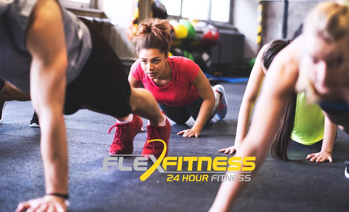 Kiwifit class run by Flex Fitness